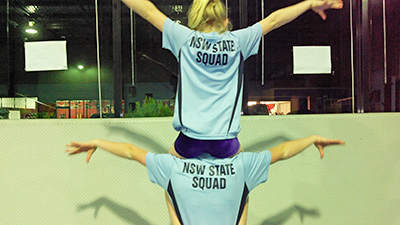NSW State Squad Representatives 2014